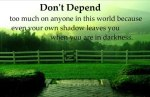 don't depend