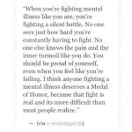 Fighting mental illness